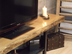 Grand Buffet En Bois Massif Brut Pictures to pin on Pinterest